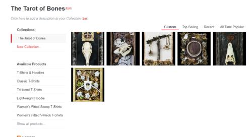 Want Tarot of Bones T-shirts, Prints and More? | The Tarot of Bones